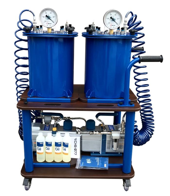 Мобильная установка для вакуумной инфузии МВС-21